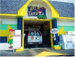 Drive through bar